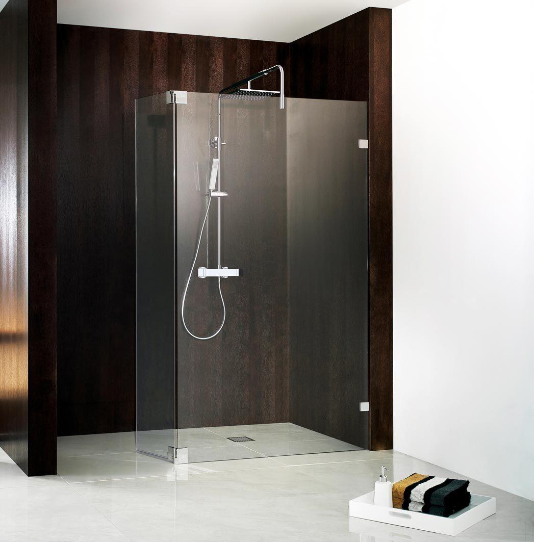 Walk In Duschwand für begehbare Dusche TopDesigns von