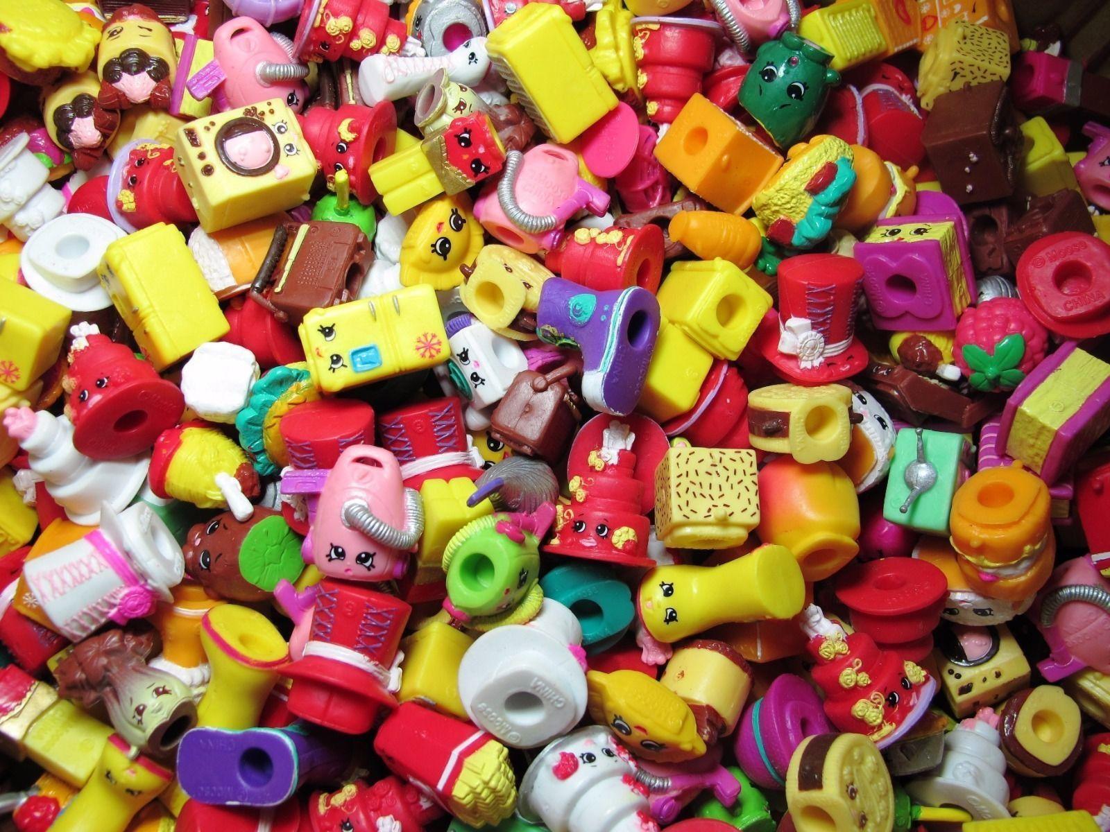 Real Shopkins Character Toys Figure 100pcs Random mixed Lot NEW RARE US
