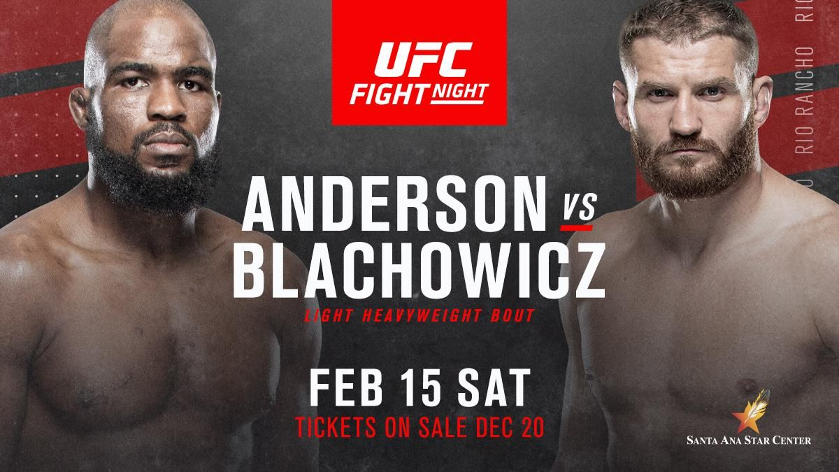 Video Ufc Fight Night Anderson Vs Blachowicz Predictions Preview Betting Odds Srs Runs You Through The Ufc Rio Via Www Fi In 2020 Ufc Fight Night Ufc Fight Night
