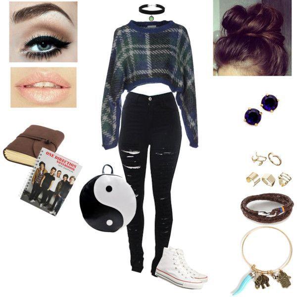 Y 600600 Apparel 2 Pinterest Baddie Grunge Outfits For School #grungeoutfits