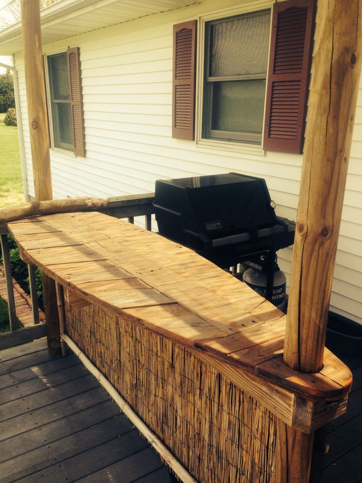 Surfboard Tiki Bar | My Pallet/surfboard Tiki Bar