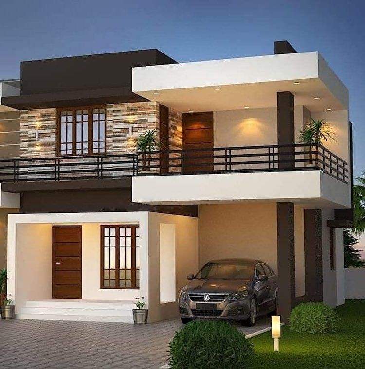 Top 40 Most Beautiful Houses To See More Visit In 2020 Small House Design Exterior Facade House House Outside Design