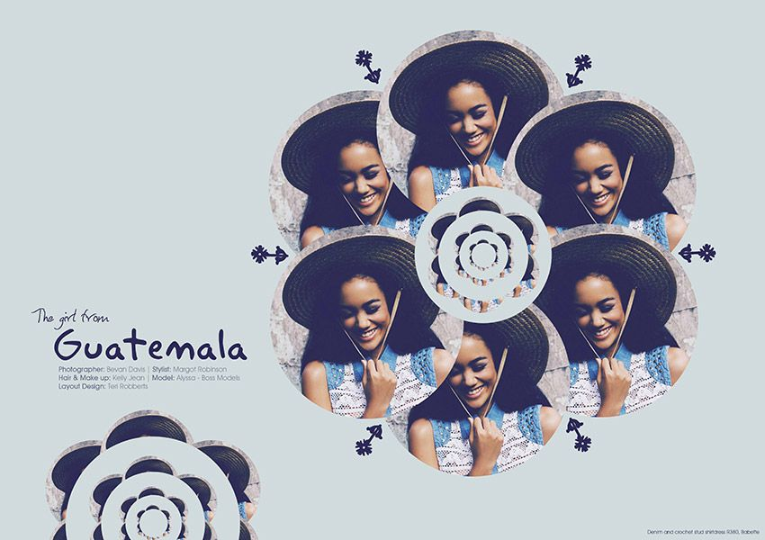 The Girl from Guatemala http://www.afashionfriend.co.za/issue/aff-issue-30/girl-guatemala