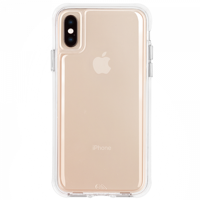 Iphone Xs Max Clear Tough Back Gold Iphone Iphone Cases Iphone Phone Cases