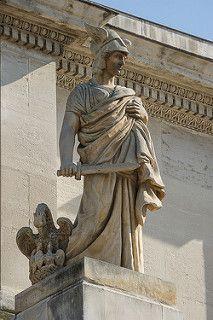 Porte D Aix Marseille Classical Art Statue Cave Drawings