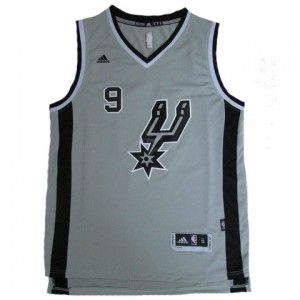 be00622a1775 Mens San Antonio Spurs Tony Parker Jersey Number 9 Jersey Grey http   www