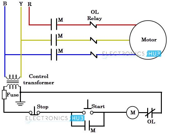 2 phase motor wiring diagram wiring diagram structure 3 Wire Well Pump Wiring Diagram