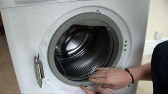 How To Replace A Washing Machine Door Seal On A Bosch Washer Youtube Washing Machine Bosch Washing Machine Door Seals