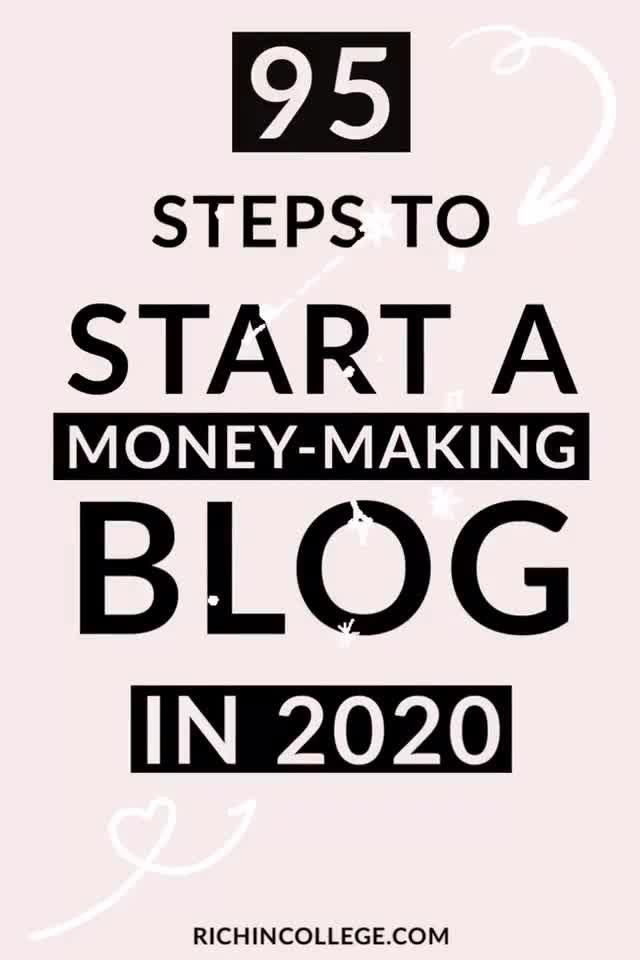 How To Start A Blog + Make Money Online in 95 Easy...