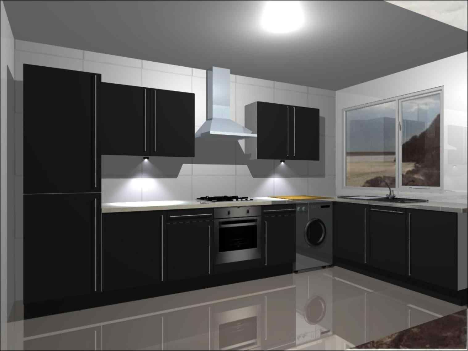 Awesome 13 Black Shiny Kitchen Cabinets Ideas For Stunning ...