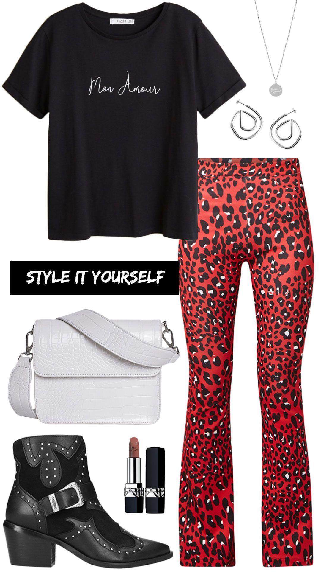 Zo combineer je een leopard broek MonStyle | Broeken, Mode