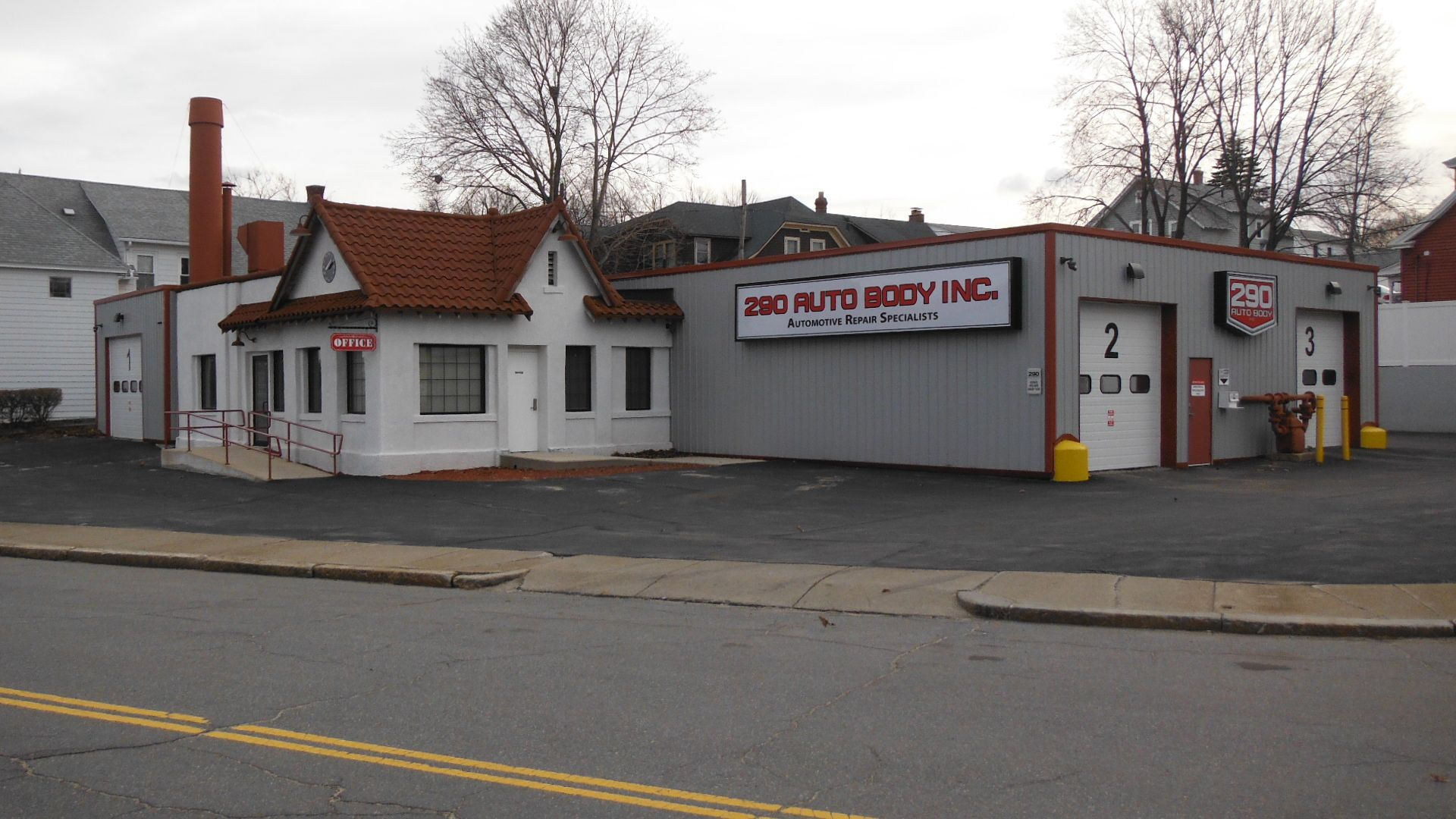 Renovations to the former Malo Auto Body building are now complete. Added in all the