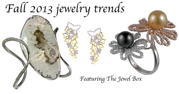 Fall 2013 jewelry trends featuring fine jewelry from The Jewel Box Singapore