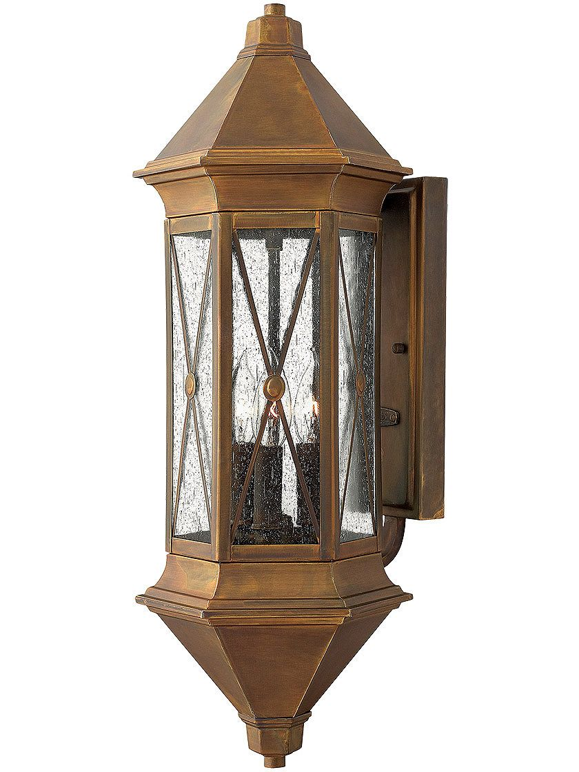 Brighton Extra large Wall Sconce In Sienna Finish | House of Antique Hardware  sc 1 st  Pinterest & Brighton Extra large Wall Sconce In Sienna Finish | House of Antique ...