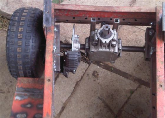 Centrifugal Clutch Tractor : Pics photos how to build a racing custom pinterest