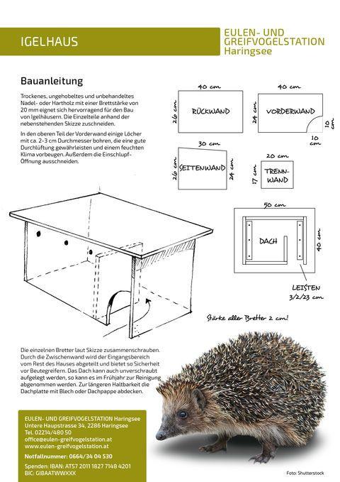 Nistkästen für Säugetiere: Eulen- und Greifvogelstation Haringsee #birdhouses
