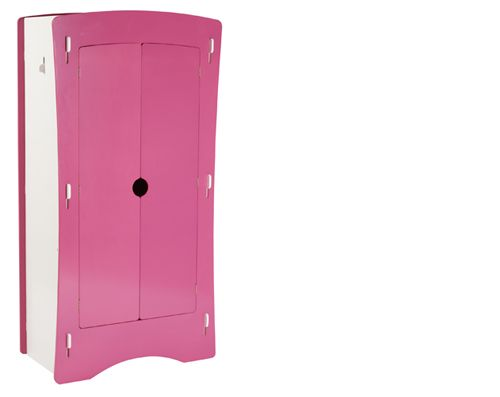 Its Dazzling Vibrant Pink And White Painted Finish Gives Attraction And Is  Perfect Addition To Your · Little Girl BedroomsKid ...