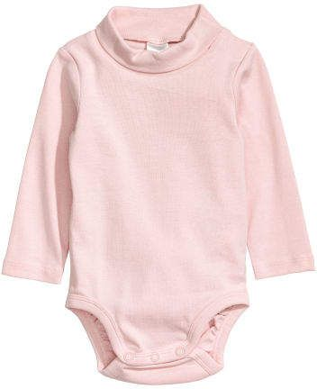 d9aa0991c H&M Turtleneck Bodysuit - Pink | Daisy | Turtleneck bodysuit ...