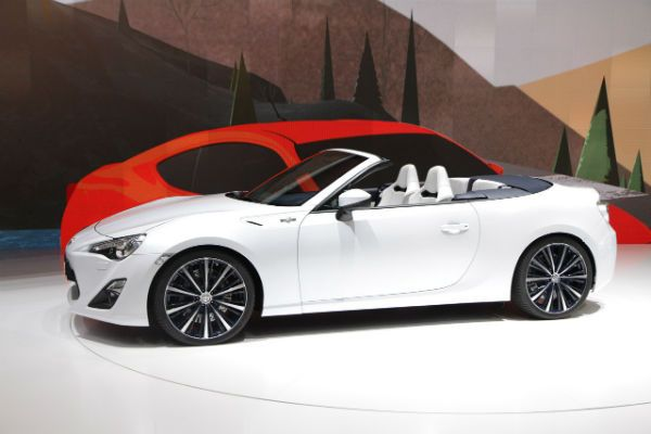 2016 Scion Frs Convertible