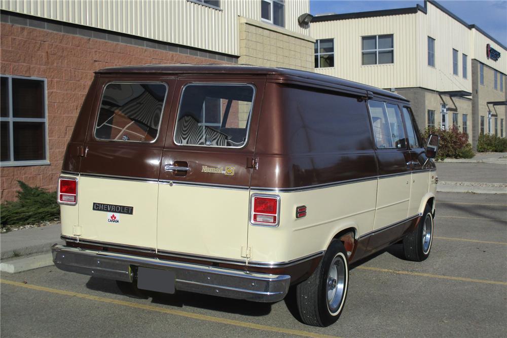 1979 Chevrolet Nomad Van Rear 3 4 204703 Chevy Van Vans Chevy Nomad
