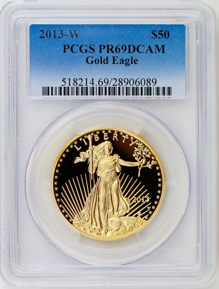 2013-W American Silver Eagle Proof First Strike PCGS PR69 DCAM