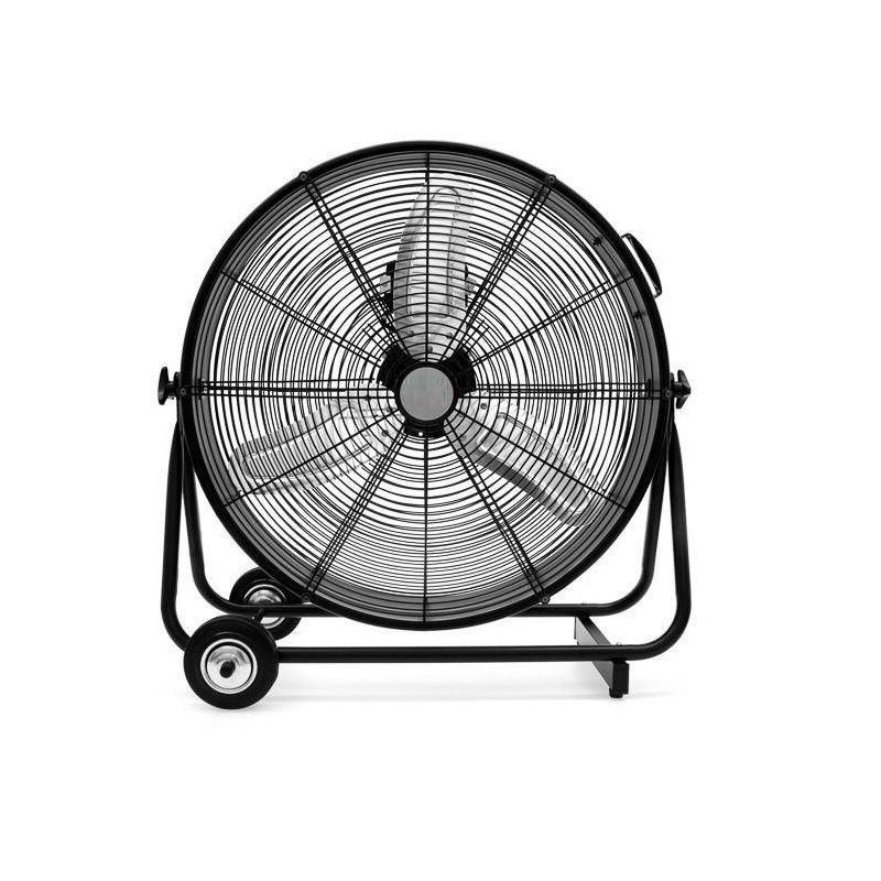 23 75 Black Ecohouzng Freestanding Utility Drum Floor Fan In 2020