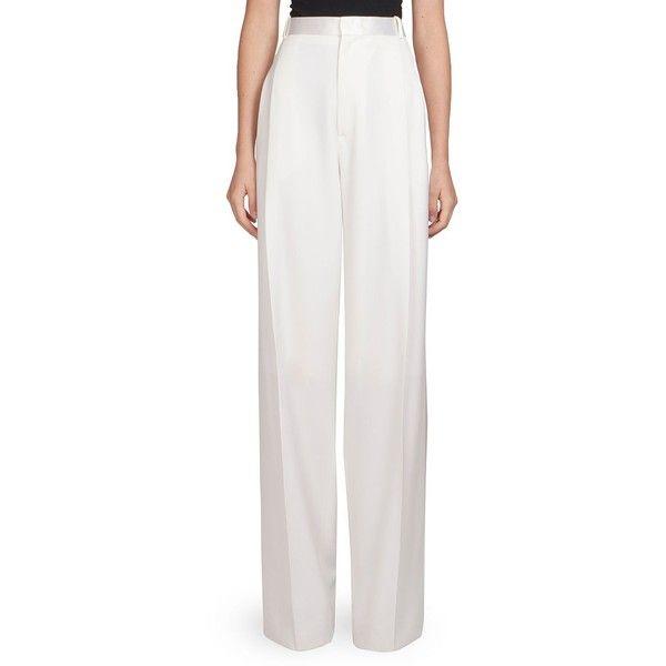 Pantalon Large Jambe - Blanc Givenchy tKaTI