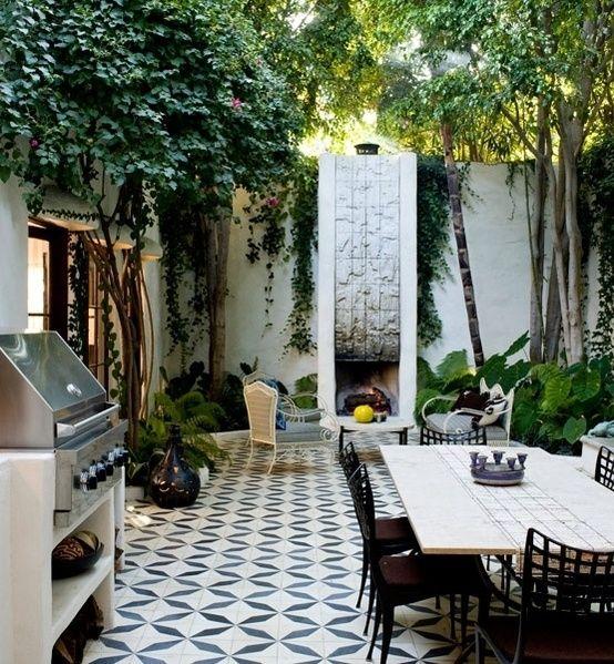 Terraza con piso de baldos n para mi casa pinterest for Pisos para terrazas y patios