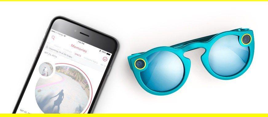 Conoce las Spectacles, las gafas con cámara de Snapchat !