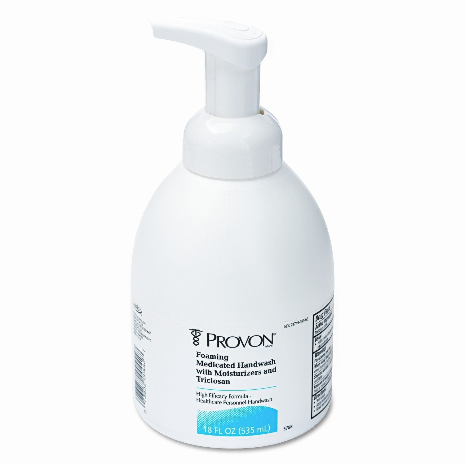 Provon Foaming Antimicrobial Handwash W Moisturizers Unscented