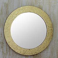 Glass Mosaic Mirror Golden Glamour Glass Mosaic Mirror Mirror Mosaic Mosaic Mirror
