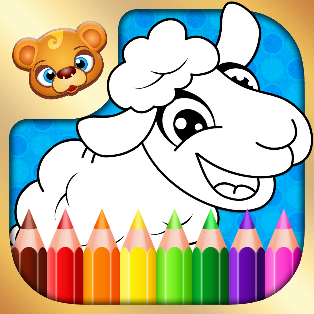 Try the best Coloring app! 123 Kids Fun COLORING Book - coloring ...