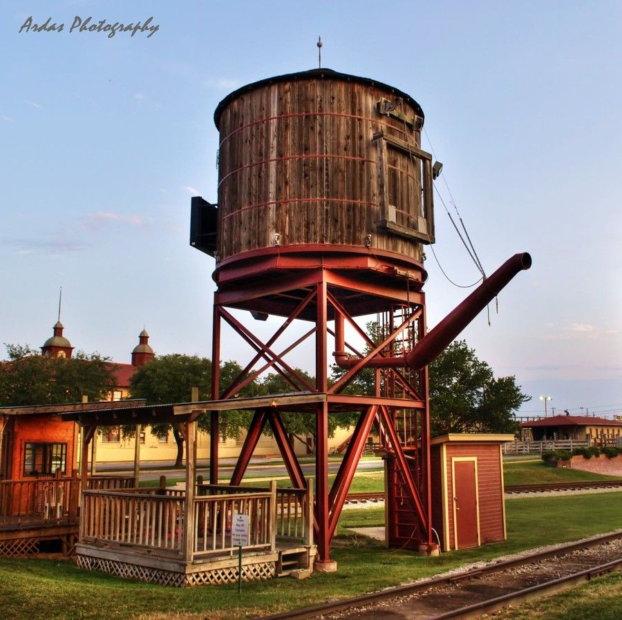 Old Train Water Tower