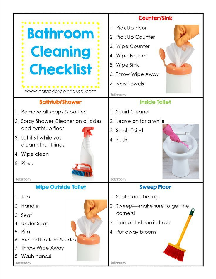 Editable Cleaning Chore Cards for Kids PARENTING TIPS Chore