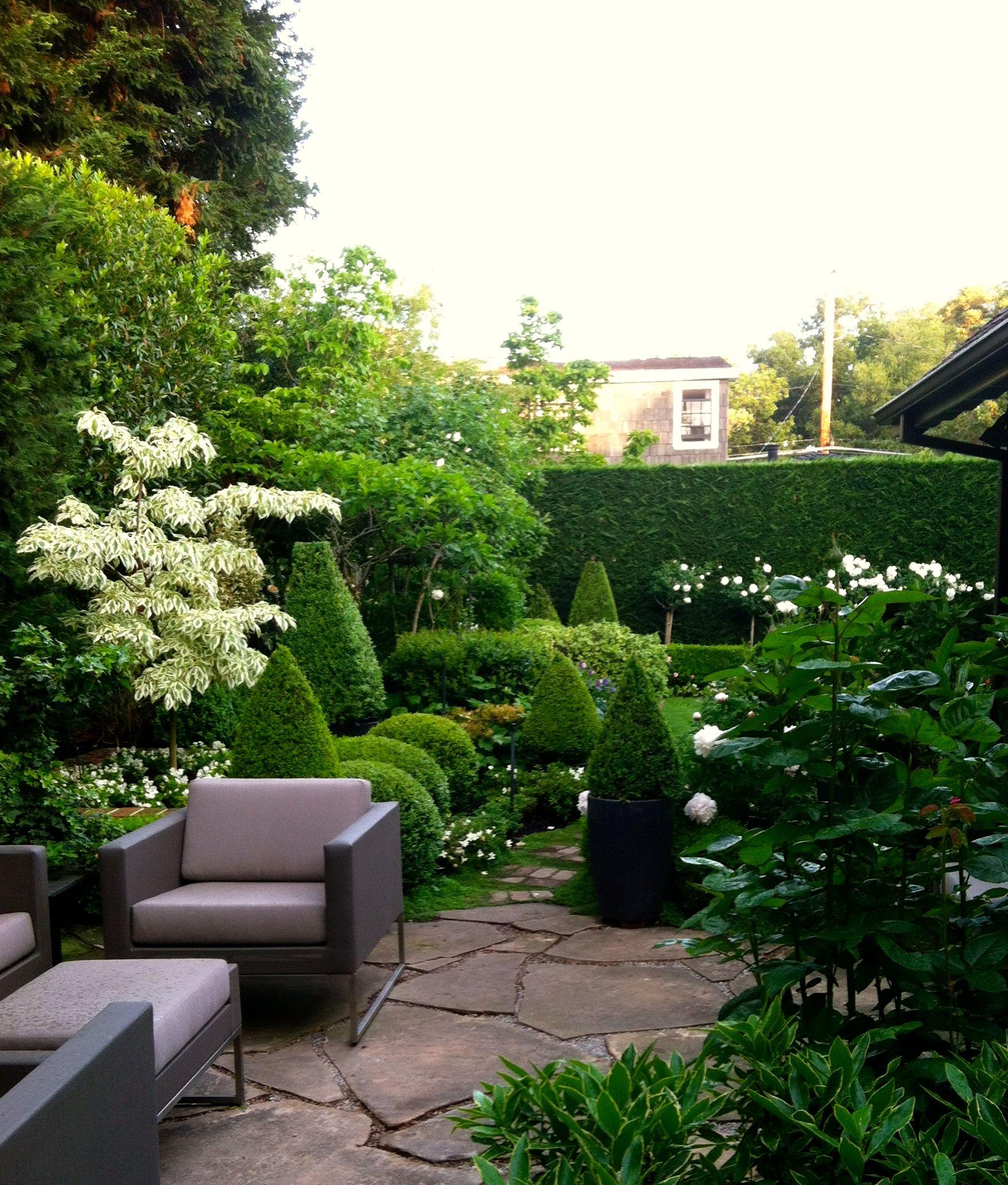 Green On Green Design By Dorrit Kingsbury For Kingsbury Garden Designs Llc Garden Design Green Design Outdoor Decor