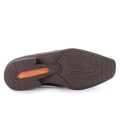 Sapato Conforto Masculino Ferracini Florenca - Marrom