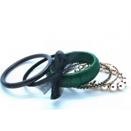Narella Green Bangle set $10.00