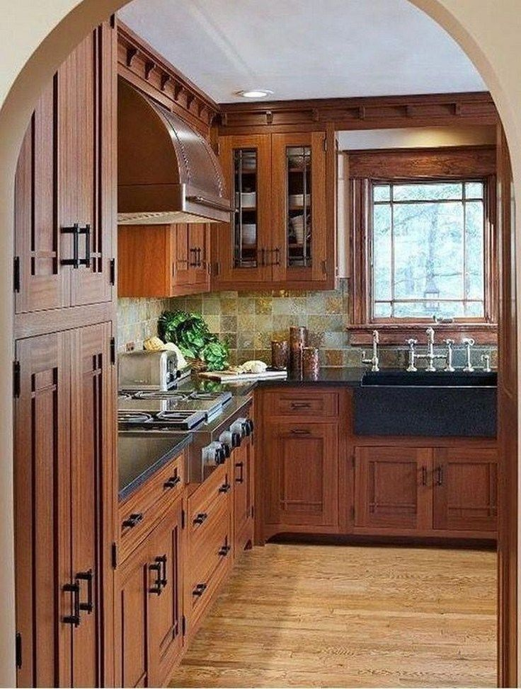 31 Fabulous Modern Rustic Kitchen Cabinets - Modern ...