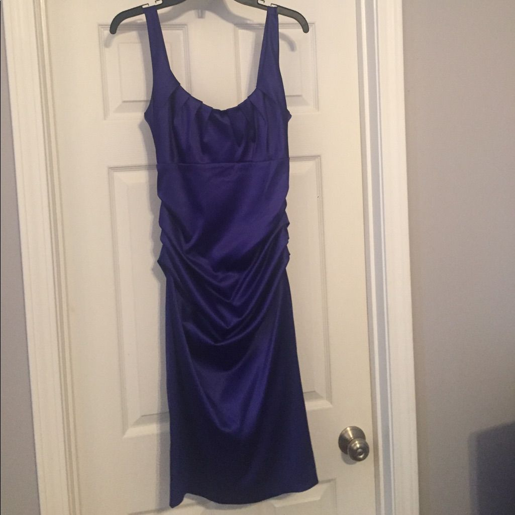 Dark Purple/Blue Cocktail Dress