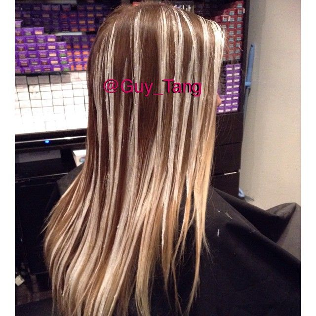 Free Hand Painting Technique By Guy Tang Ombre Hair Blonde Ombre Hair Color Hair Techniques