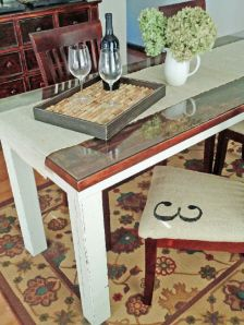 Dining Room Table Made From A Door