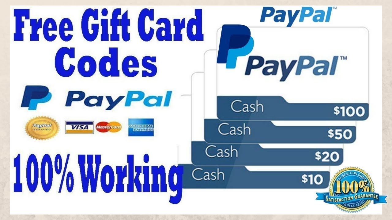 How to get free paypal || coupon code 2018 || paypal gift card