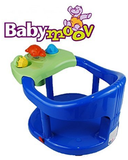 8: Babymoov Splash Fun Bath Ring Seat Blue Color Tub