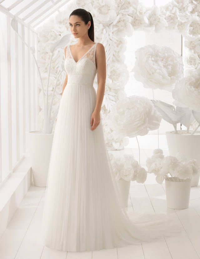Modern, schlicht und super luxuriös: Rosa Clará Brautkleider 2018 ...