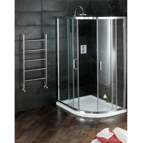Atlas Offset Quadrant Sliding Door Shower Enclosure Art