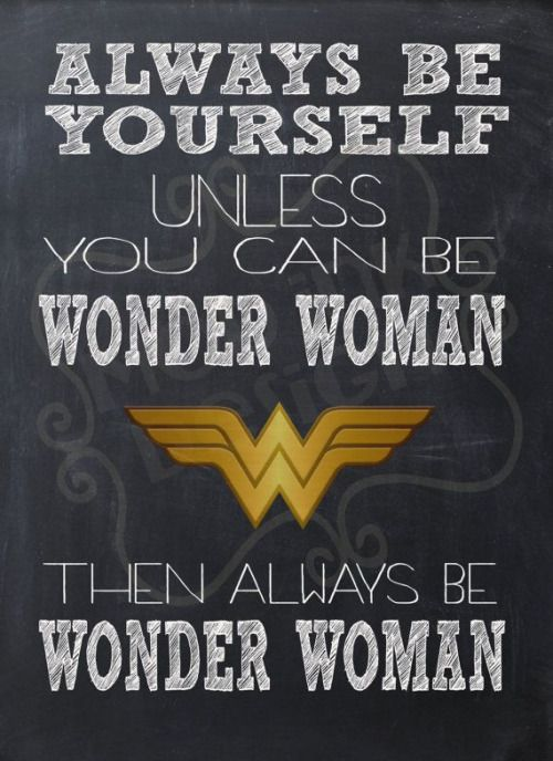 Wonder Woman Fitness Quotes: Image Result For Always Be Yourself Unless You Can Be