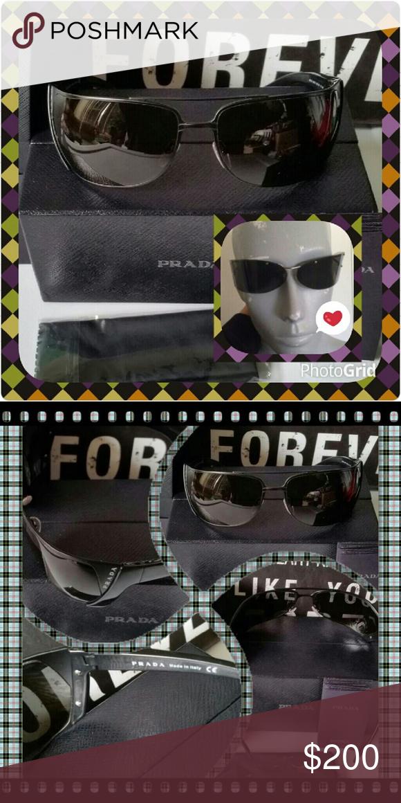 d341cfbfad32c Authentic Prada Luxottica Agordo Sunglasses Sleek