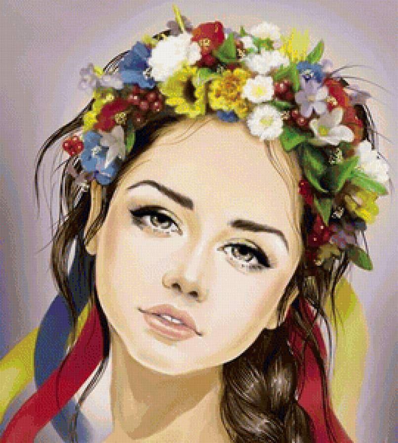 я украинка рисунок прадедушка