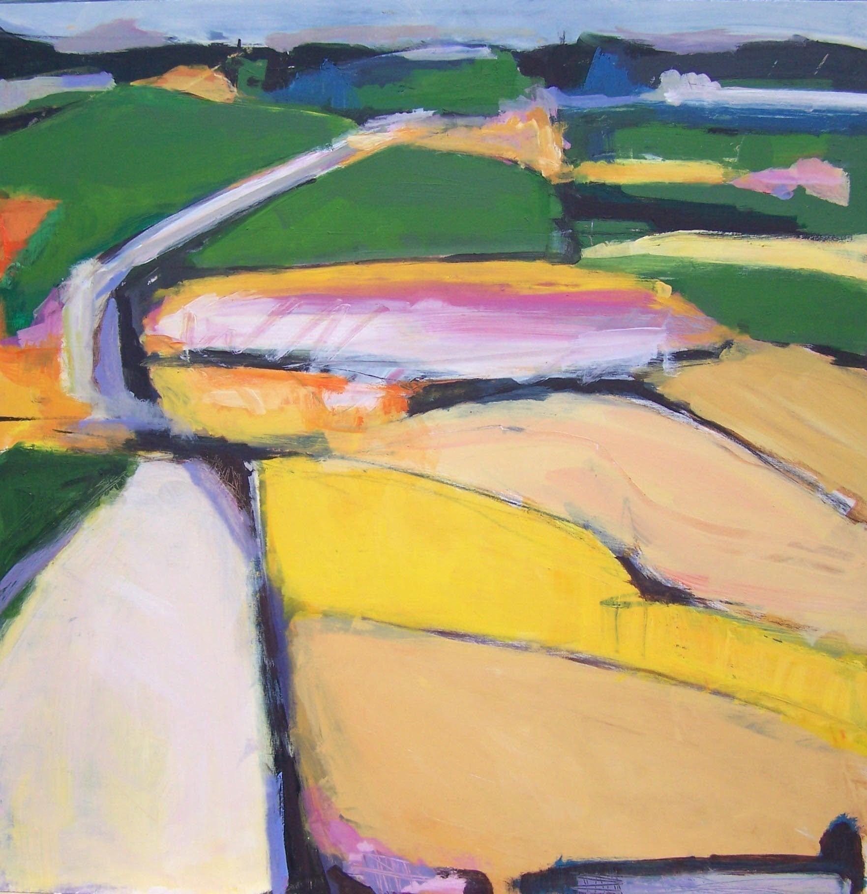 "For Sale: Landscape #4 by Heidi Lanino   $1,000   24""w 24""h   Original Art   https://www.vangoart.co/heidi-hlb-studios/landscape-4-9a810c72-52ba-4a75-84df-501536fa57bd"
