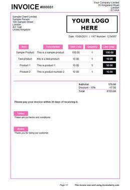 helloimkim design invoice | hello there. | pinterest | graphics, Invoice templates